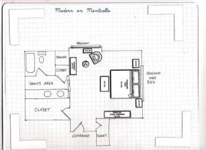 Master Bedroom Furniture Layout 001