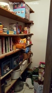 My new clean and organized pantry