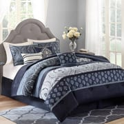 BH&G Indigo Paisley bedding
