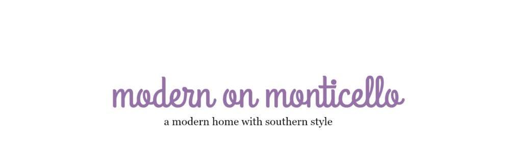 Modern on Monticello
