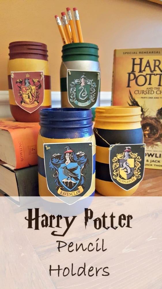 harry potter pencil holder