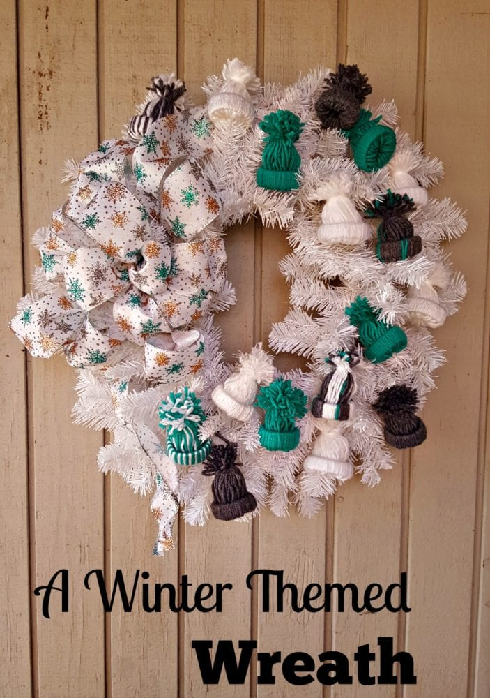 A Winter Themed Wreath