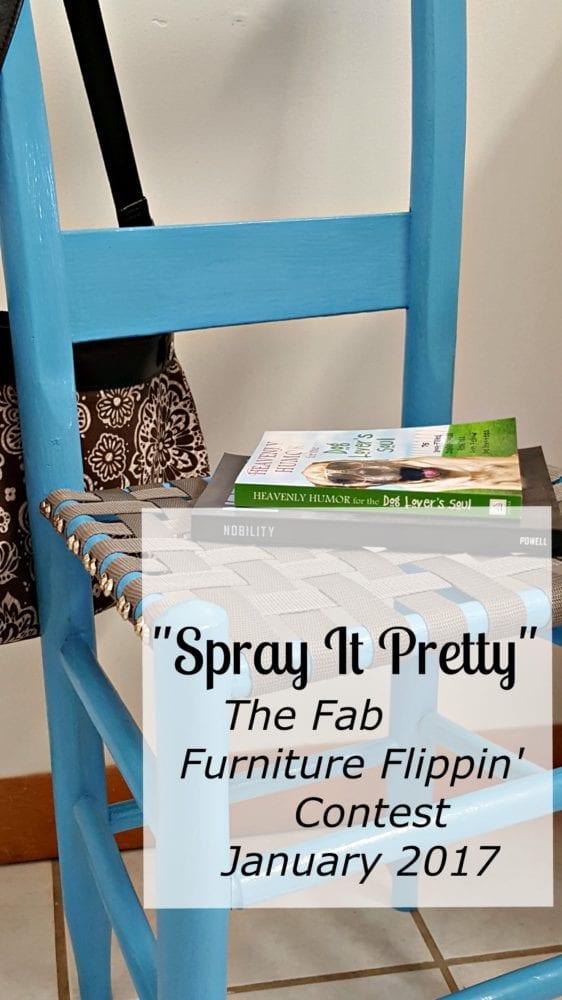 """Spray It Pretty"" The Fab Furniture Flippin' Contest"