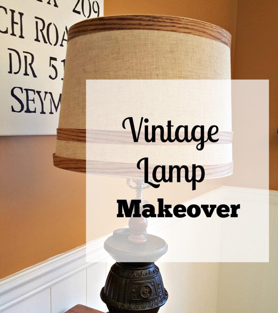 Vintage Lamp Makeover