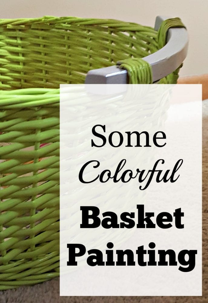 Some Colorful Basket Painting