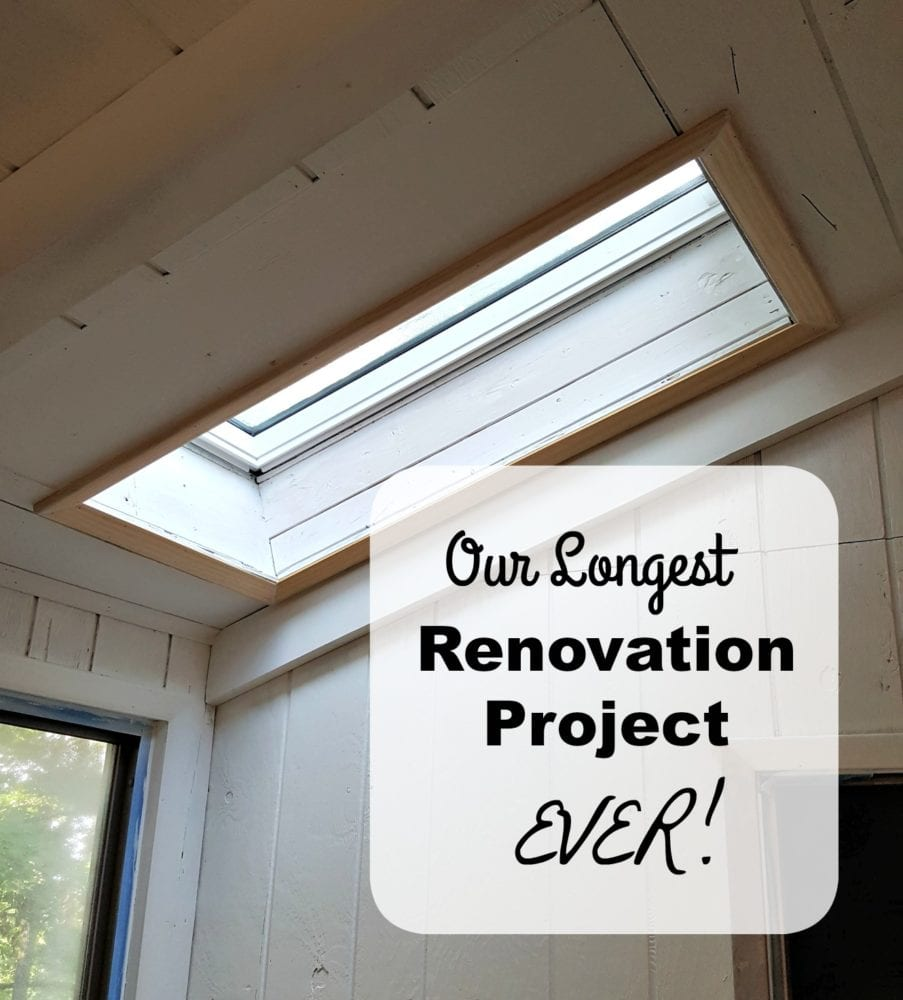 Our Longest Renovation Project EVER!