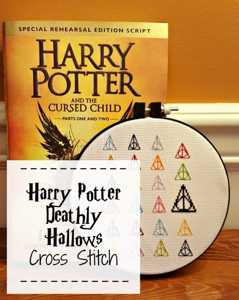 Harry Potter Deathly Hallows Cross Stitch