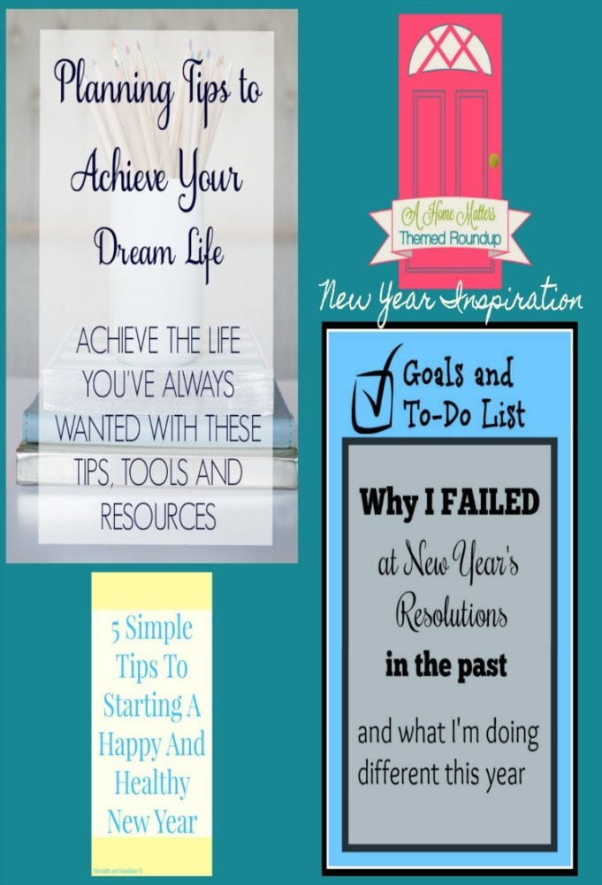 New Year Inspiration and Goals + HM #166