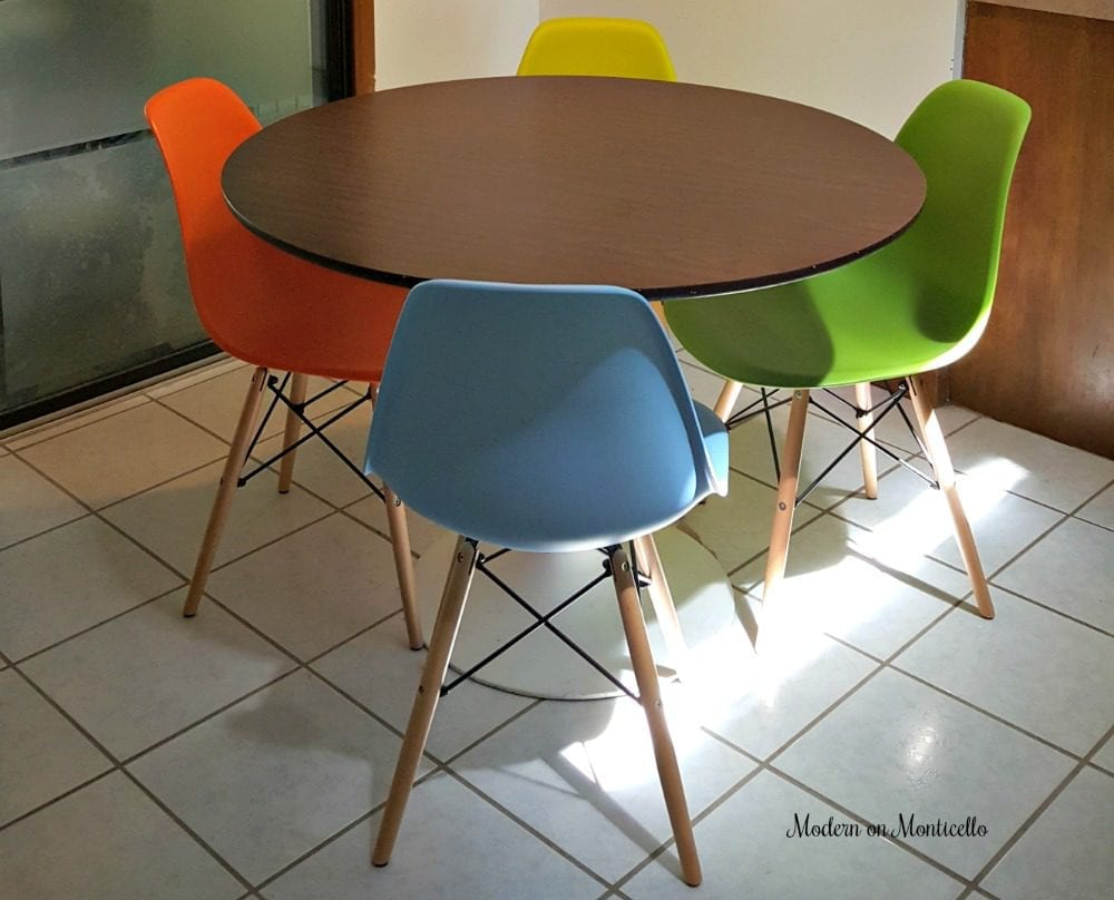 We Purchased Four Harrison Chairs By Langley Street In Four Different  Colors That Match The Chair Button Colors And Other Accessories In Our  Updated Modern ...