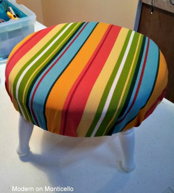 Adorable Stool Makeover