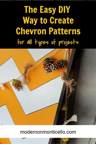 easy chevron patterns