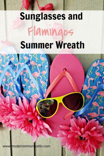 sunglasses and flamingos