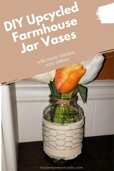 farmhouse jar vases