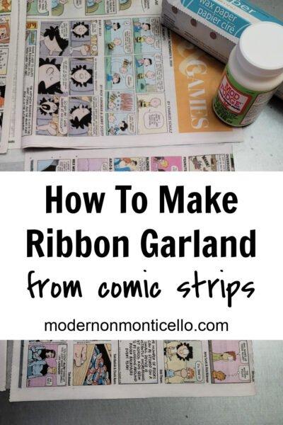comic strip ribbon