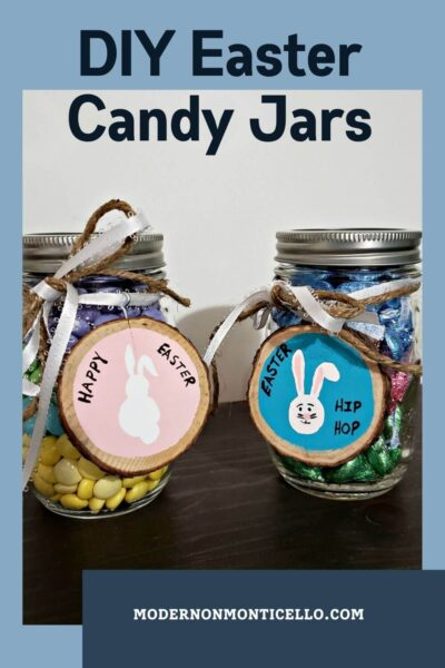 DIY Easter Candy Jars