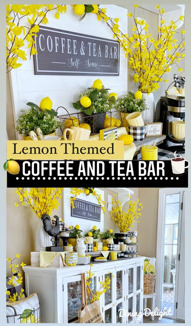 coffee and tea bar