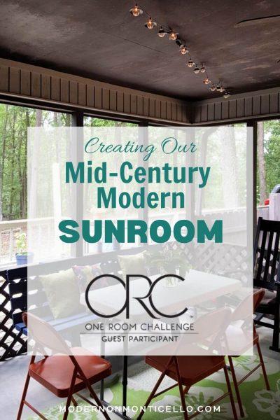 midcentury sunroom