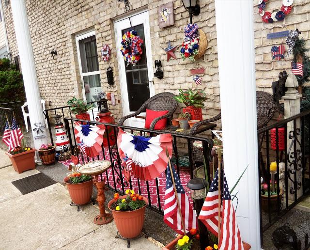 july 4th porch