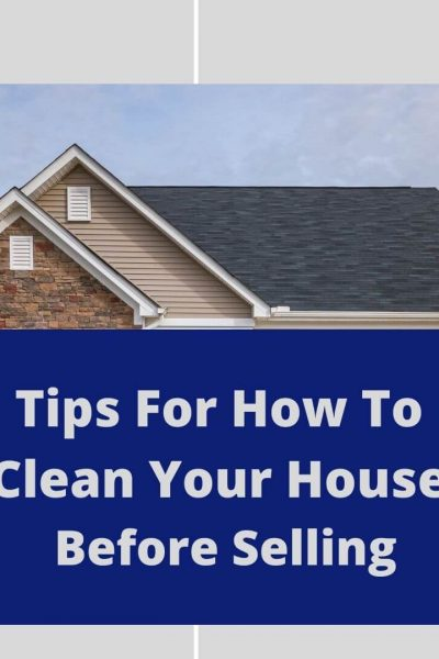 how to clean house before selling